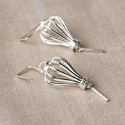 Silver Lantern earrings